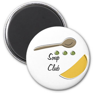 Soup Club Refrigerator Magnets