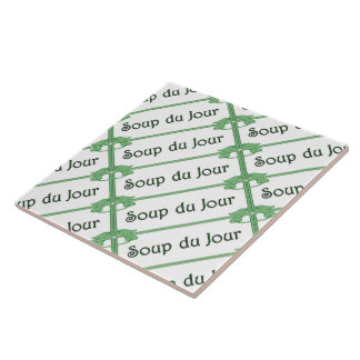 Soup du Jour Ceramic Tile