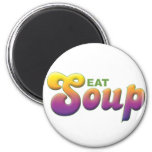 Soup, Eat Fridge Magnets