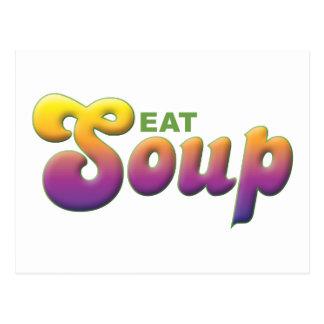 Soup, Eat Postcards