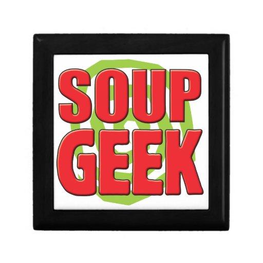 Soup Geek Keepsake Boxes