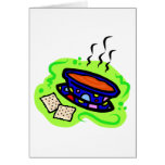 Soup Greeting Card