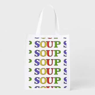 SOUP GROCERY BAG