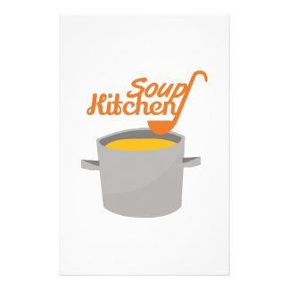 Soup Kitchen Stationery