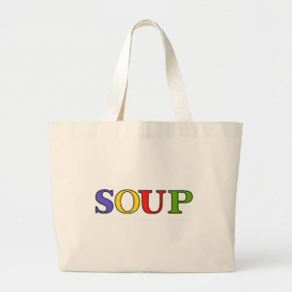 SOUP LARGE TOTE BAG