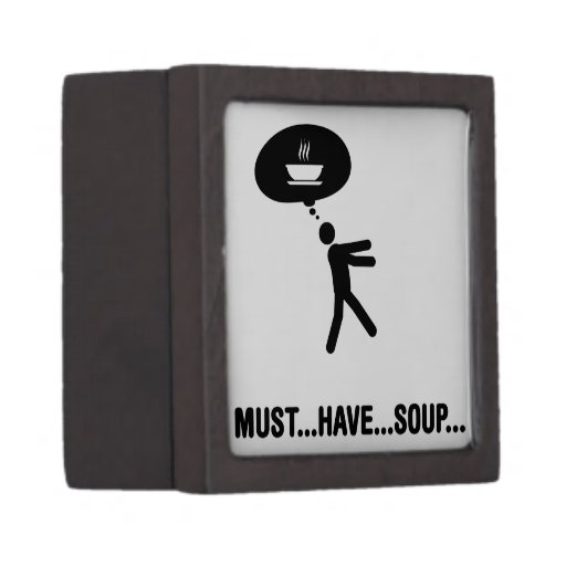Soup Lover Premium Keepsake Boxes