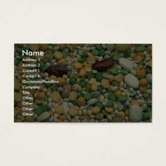 Soup mix business card