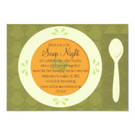 Soup Night Invitation