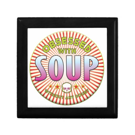 Soup Obsessed R Jewelry Box