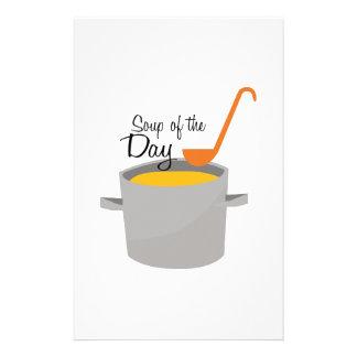 Soup Of Day Stationery