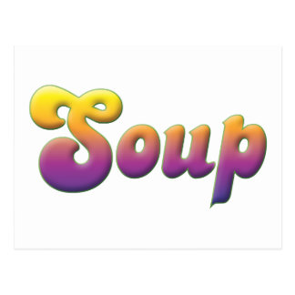 Soup Post Cards