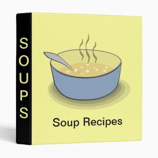 Soup Recipe Binder