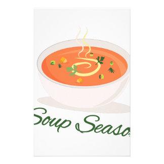 Soup Season Stationery