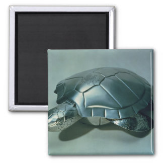 Soup tureen in form of a turtle, 1790's 2 inch square magnet