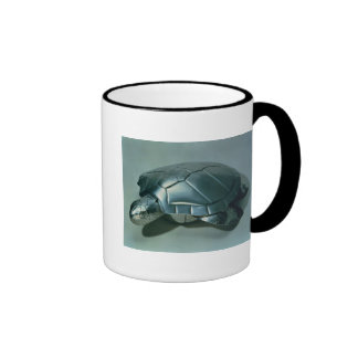 Soup tureen in form of a turtle, 1790's ringer mug