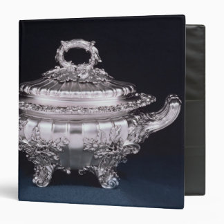 Soup tureen, one of a pair, made by Paul Storr 3 Ring Binder