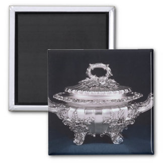 Soup tureen, one of a pair, made by Paul Storr Magnet