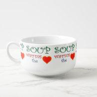 Soup Warms the Heart Soup Mug