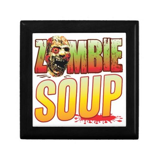 Soup Zombie Head Jewelry Box