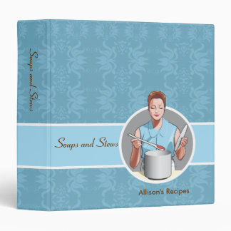 Soups and Stews Recipes Binder