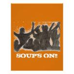 Soups On Fellowship Flyer