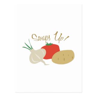Soups Up! Postcard