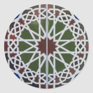 Souq Tiles Classic Round Sticker