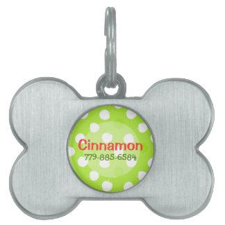 Sour Apple Key Lime Pet ID Tag
