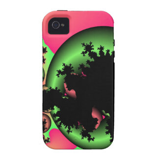 sour apple worm hole vibe iPhone 4 cases