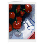 Sour Cherries Greeting Cards