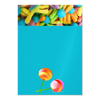 sour chew gummie fruit sweets dessert party shower magnetic card