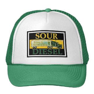 SOUR DIESEL TRUCKER HAT
