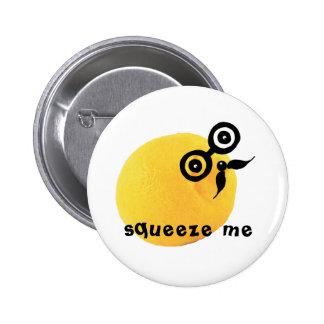 Sour Face Squeeze Me Button