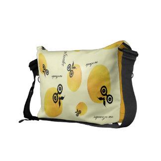 Sour Face Squeeze Me Rickshaw Messenger Bag