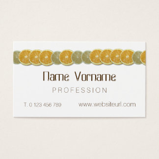 sour fruits business card