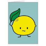 Sour Lemon Greeting Cards