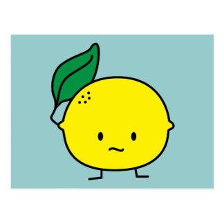 Sour Lemon Postcard