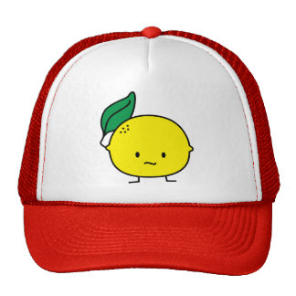 Sour Lemon Trucker Hat