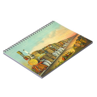 Sour Mash Express 1877 Spiral Notebook