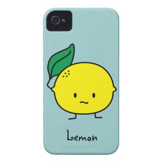 Sour yellow lemon leaf citrus fruit lemony iPhone 4 cover
