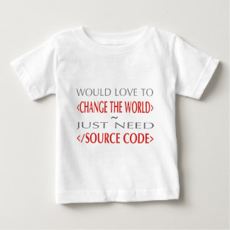 Source Code Baby T-Shirt