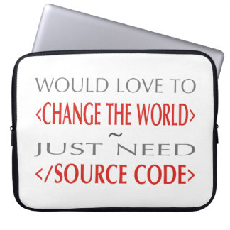Source Code Computer Sleeve