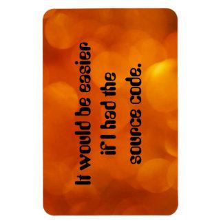 Source code magnet