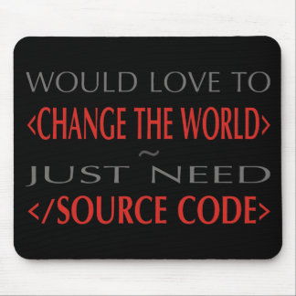 Source Code Mouse Pad