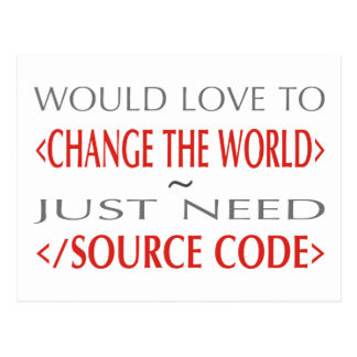 Source Code Postcard
