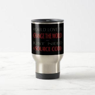 Source Code Travel Mug