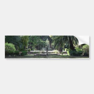 Source in Park of Maria Luisa, Seville Bumper Sticker