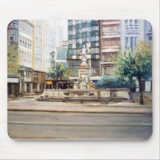Source of Neptune (To Corunna) /Neptune fountain Mouse Pad