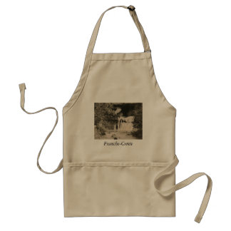 Source of the River Lizon Franche Comte Jura Adult Apron