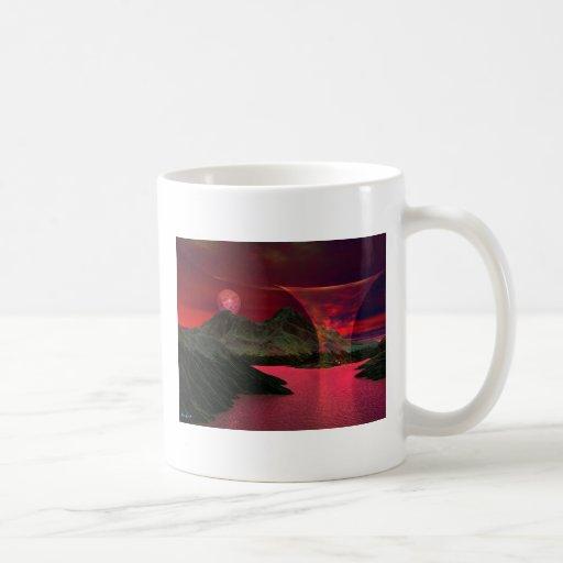 SOURCEb Classic White Coffee Mug